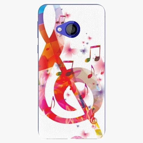 Plastový kryt iSaprio - Love Music - HTC U Play