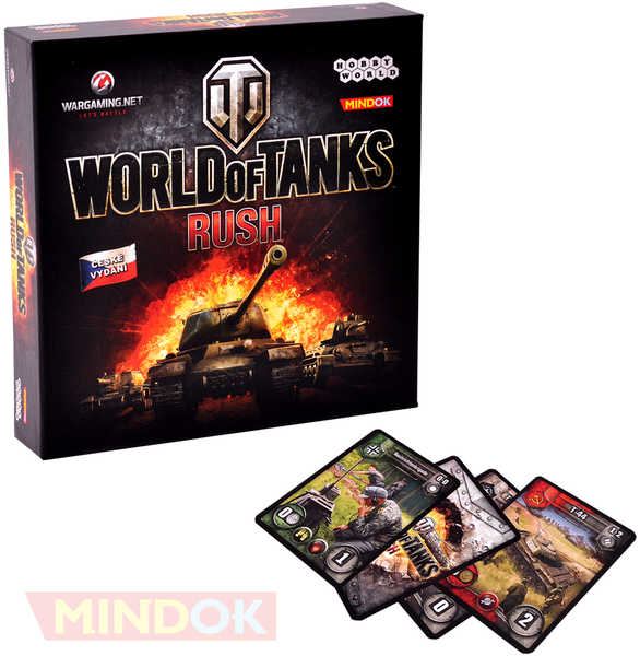 MINDOK HRA World of Tanks: Rush