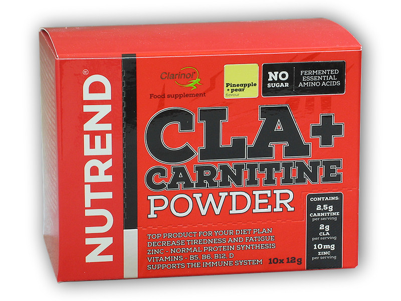 CLA + Carnitine Powder 10x12g