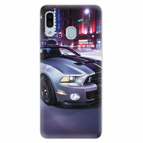 Silikonové pouzdro iSaprio - Mustang - Samsung Galaxy A30