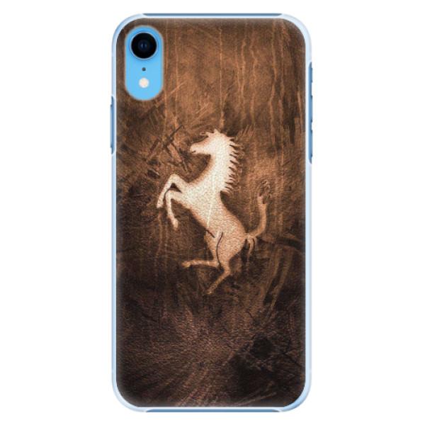 Plastové pouzdro iSaprio - Vintage Horse - iPhone XR