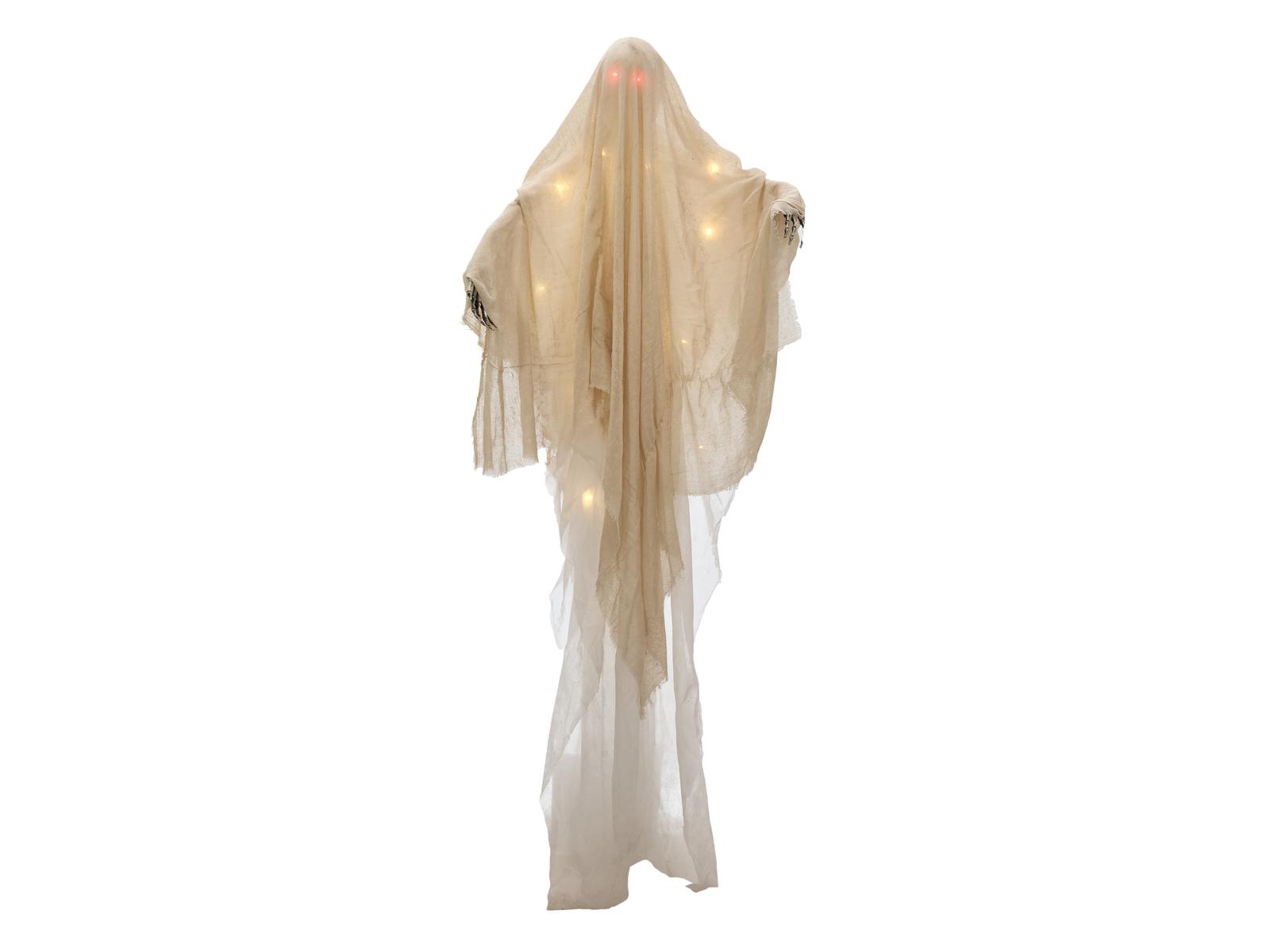 Halloween duch osvětlený, 180 cm