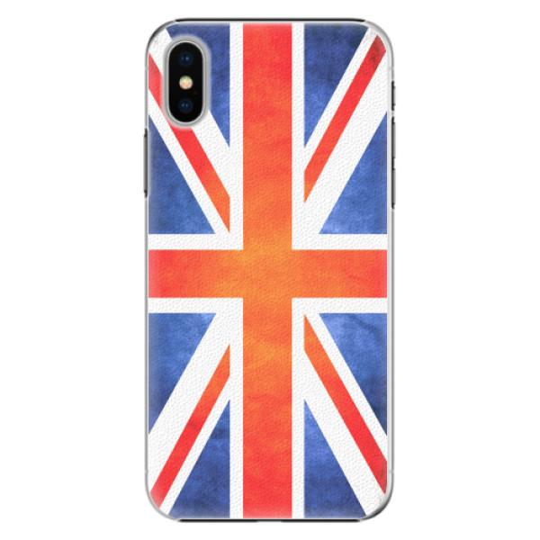 Plastové pouzdro iSaprio - UK Flag - iPhone X