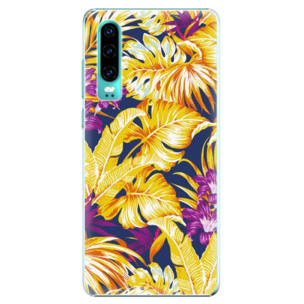 Plastové pouzdro iSaprio - Tropical Orange 04 - Huawei P30