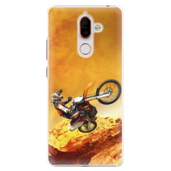 Plastové pouzdro iSaprio - Motocross - Nokia 7 Plus