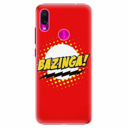 Plastový kryt iSaprio - Bazinga 01 - Xiaomi Redmi Note 7
