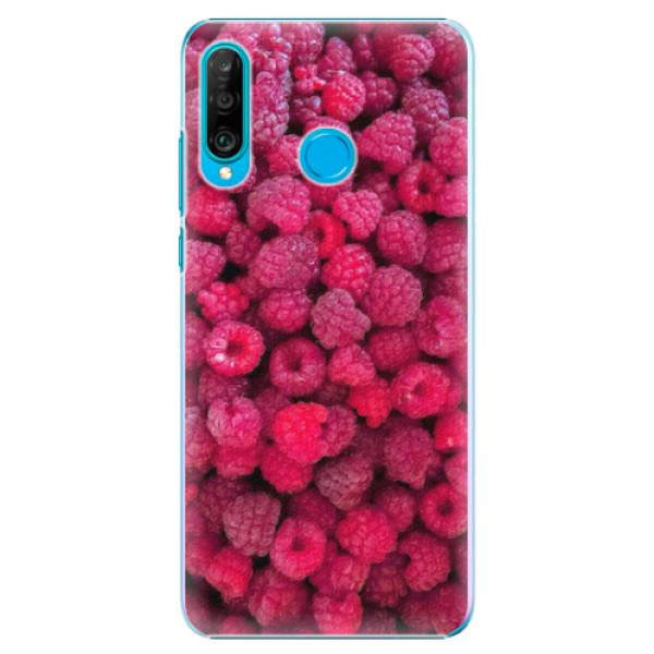 Plastové pouzdro iSaprio - Raspberry - Huawei P30 Lite
