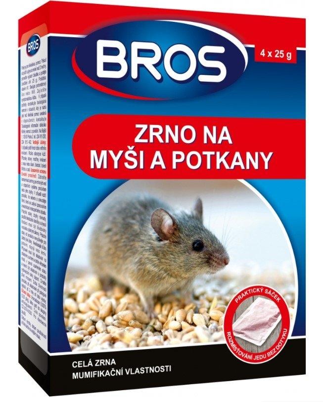 BROS zrno na myši, krysy a potkany, 120 g