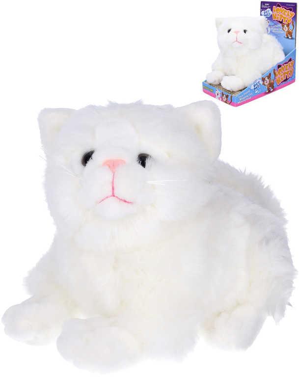 PLYŠ Kočka mňoukací 23cm hýbe hlavou a ocáskem na baterie