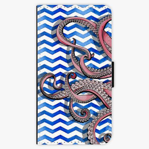 Flipové pouzdro iSaprio - Octopus - Samsung Galaxy S7