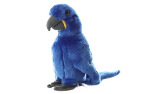 Plyš Papoušek modrý 26 cm