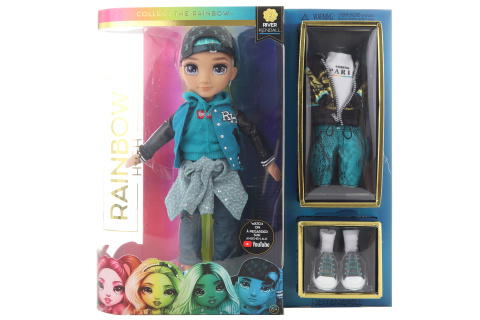 Rainbow High Fashion panenka - River Kendall (zelený kluk) TV