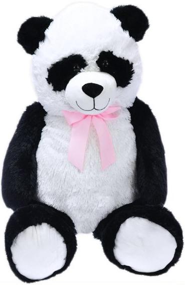 PLYŠ Panda 100cm méďa s mašlí *PLYŠOVÉ HRAČKY*