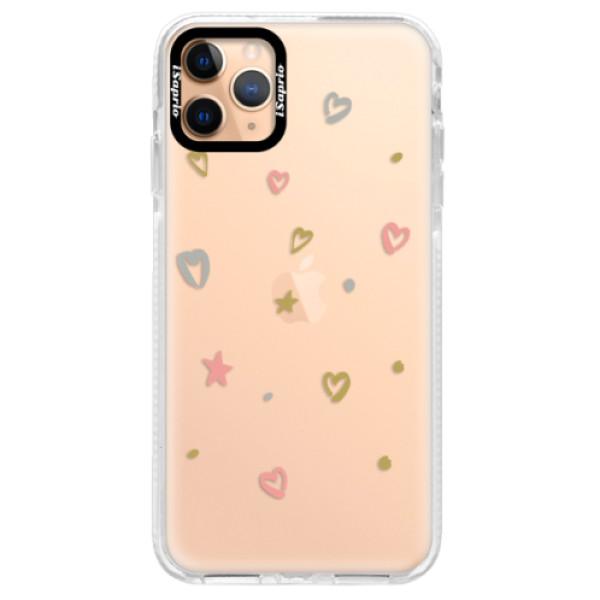 Silikonové pouzdro Bumper iSaprio - Lovely Pattern - iPhone 11 Pro Max