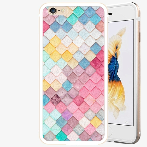 Plastový kryt iSaprio - Roof - iPhone 6 Plus/6S Plus - Gold