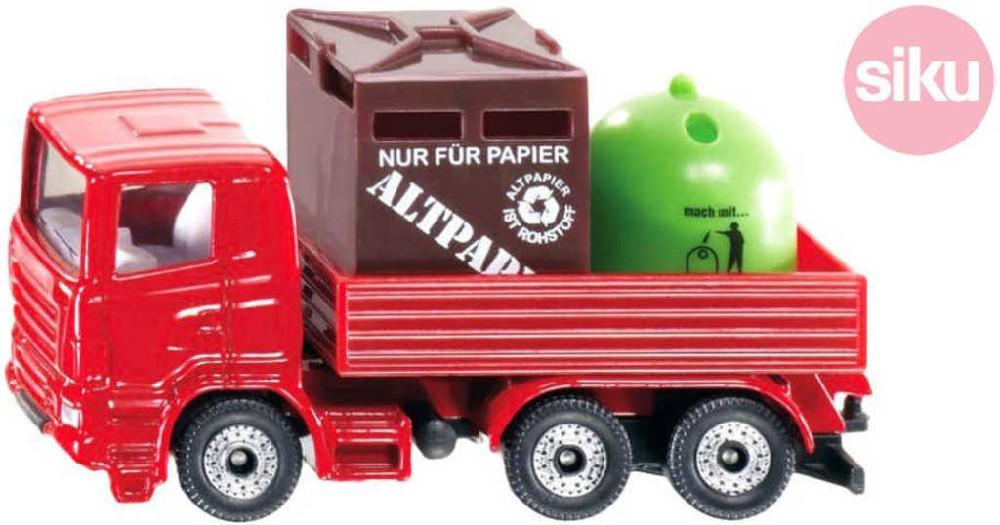 SIKU Auto recyklační Na komunální odpad Set KOV
