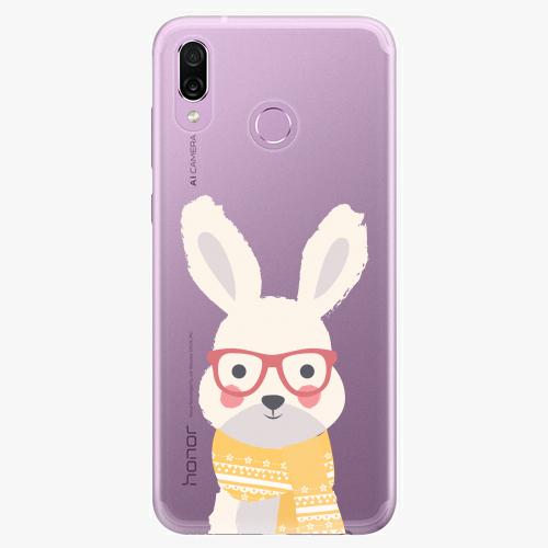 Silikonové pouzdro iSaprio - Smart Rabbit - Huawei Honor Play