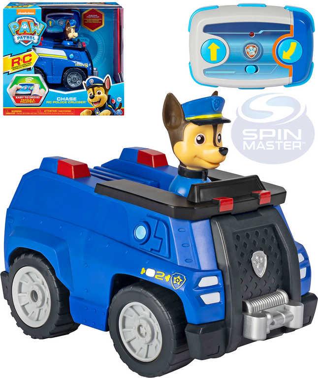 SPIN MASTER RC Auto policie s Chasem na vysílačku Tlapková Patrola na baterie
