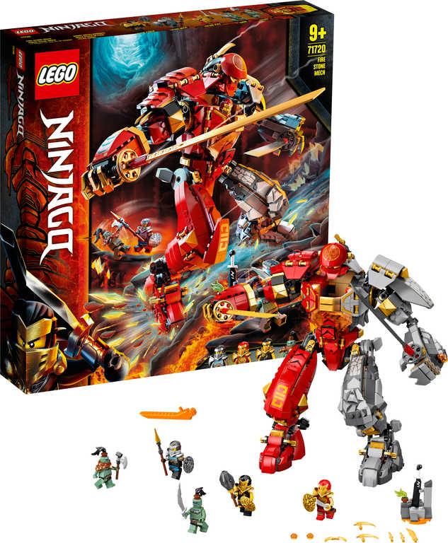 LEGO NINJAGO Robot ohně a kamene 71720 STAVEBNICE