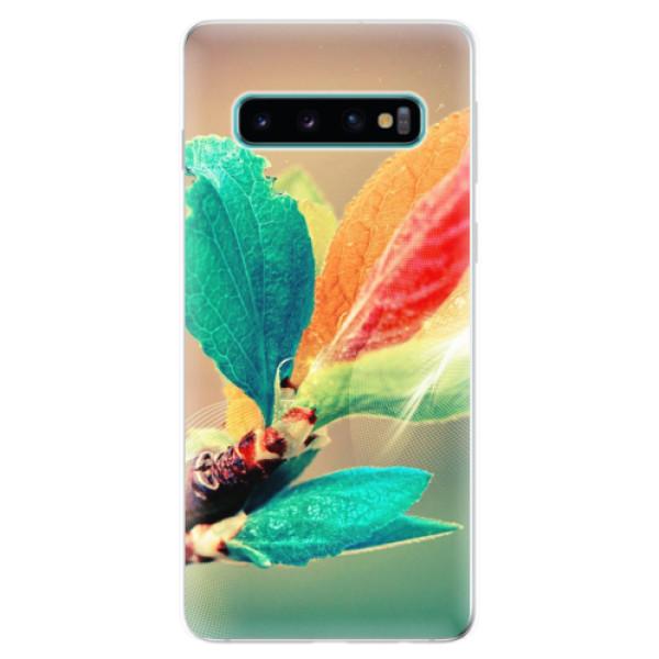 Odolné silikonové pouzdro iSaprio - Autumn 02 - Samsung Galaxy S10