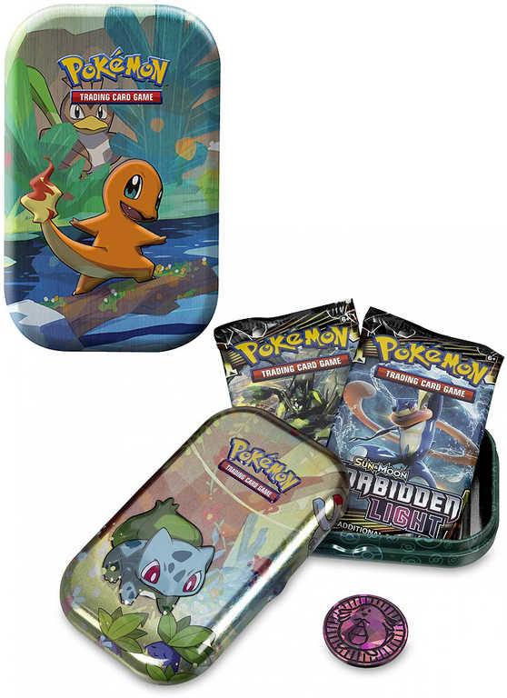 ADC Pokémon Kanto Friends Mini Tin krabička plechová s kartami a mincí