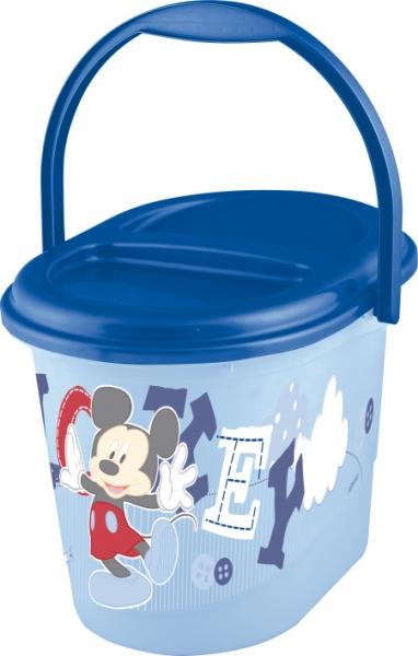 Keeeper Kbelík na plenky Mickey Mouse - modrý