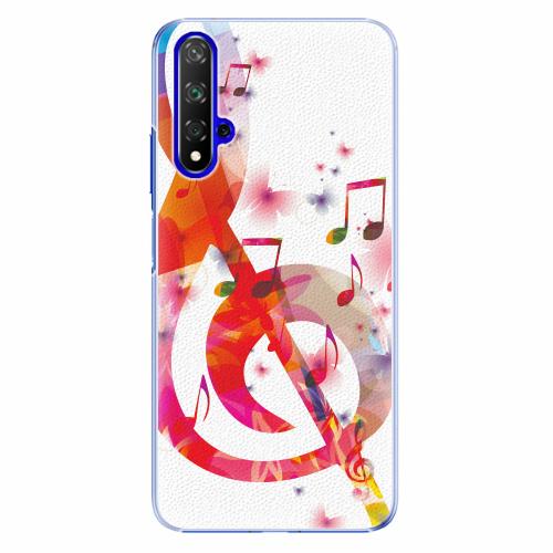 Plastový kryt iSaprio - Love Music - Huawei Honor 20