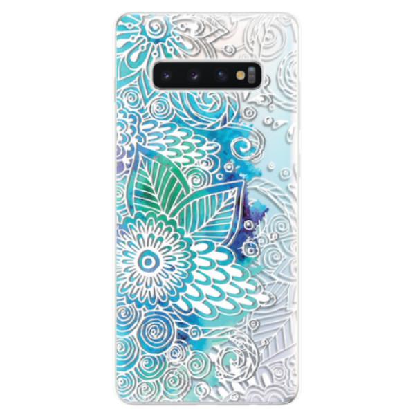 Odolné silikonové pouzdro iSaprio - Lace 03 - Samsung Galaxy S10+