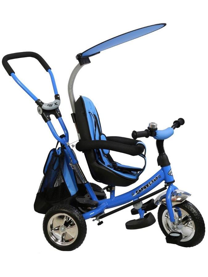 Dětská tříkolka Baby Mix Safari blue - modrá