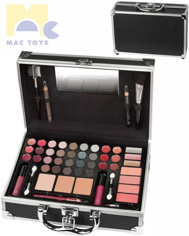 MAC TOYS Zkrášlovací sada kufřík s dekorativní kosmetikou pro děti malý kov
