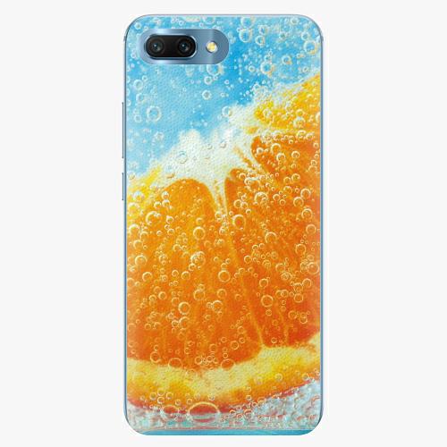 Silikonové pouzdro iSaprio - Orange Water - Huawei Honor 10