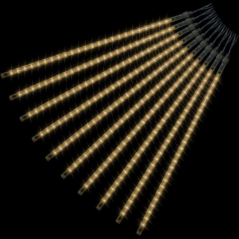 Vánoční LED osvětlení - padající sníh, 240 LED, teple bílé