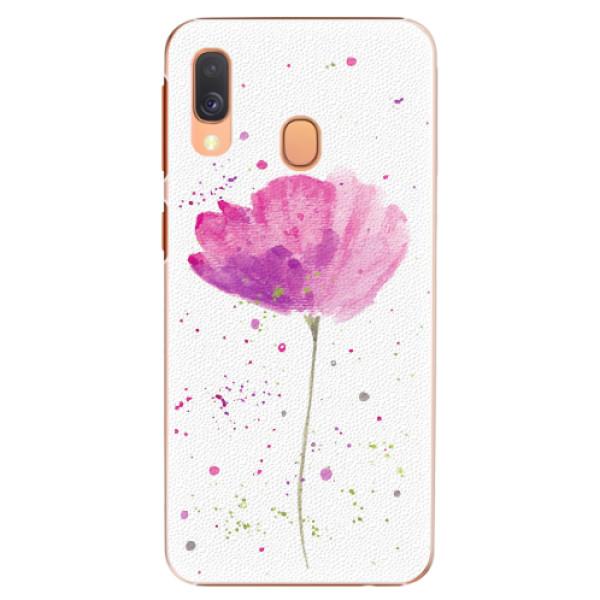 Plastové pouzdro iSaprio - Poppies - Samsung Galaxy A40
