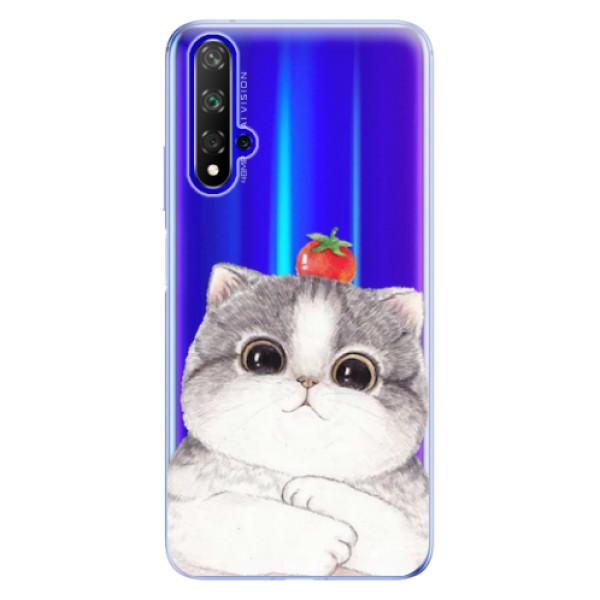 Odolné silikonové pouzdro iSaprio - Cat 03 - Huawei Honor 20