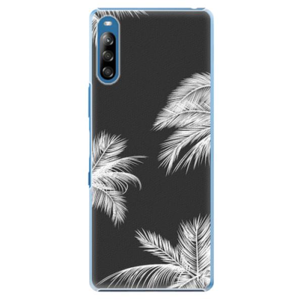 Plastové pouzdro iSaprio - White Palm - Sony Xperia L4