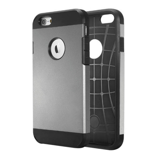Odolný kryt / pouzdro Tough Armor Smooth pro iPhone 6 šedý