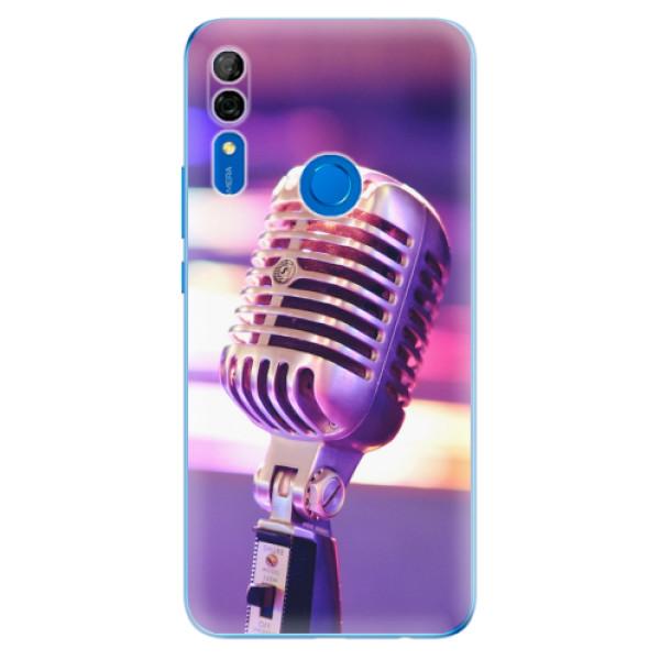 Odolné silikonové pouzdro iSaprio - Vintage Microphone - Huawei P Smart Z
