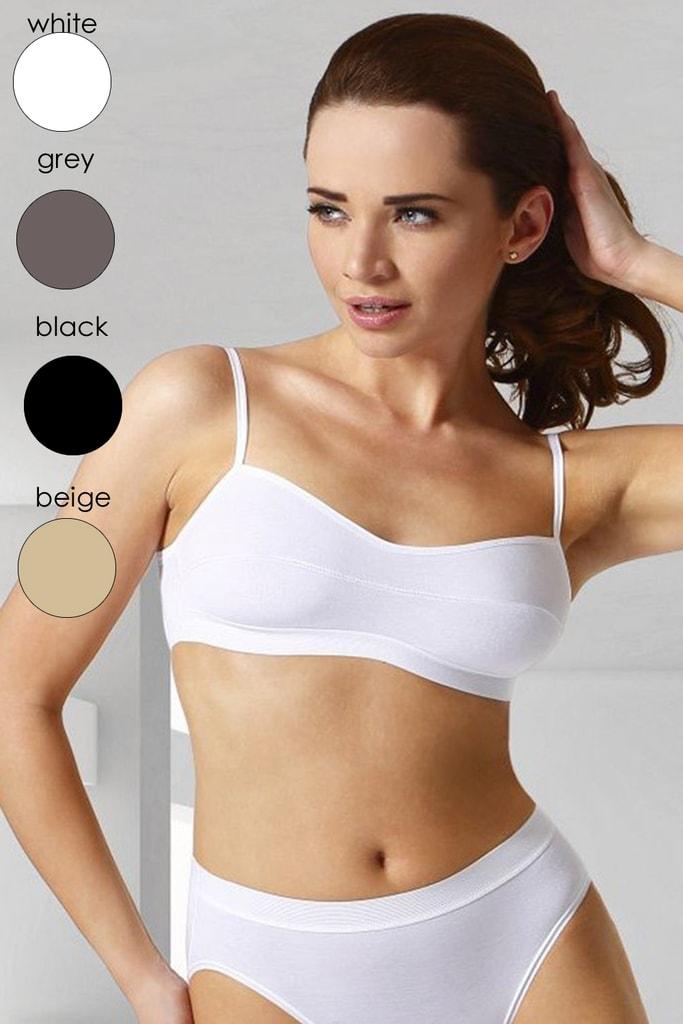 Fitness top ELDAR Stella bílý - S