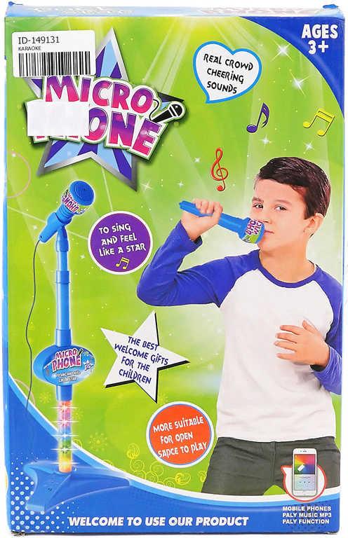 Mikrofon se světlem asst BO