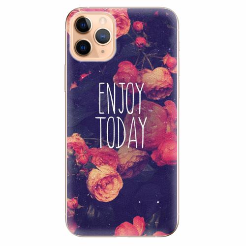 Silikonové pouzdro iSaprio - Enjoy Today - iPhone 11 Pro Max