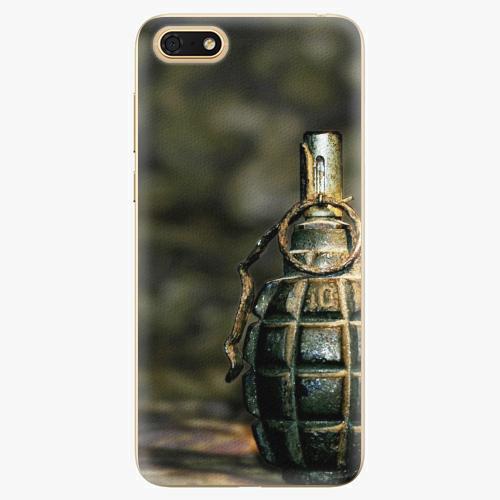 Silikonové pouzdro iSaprio - Grenade - Huawei Honor 7S