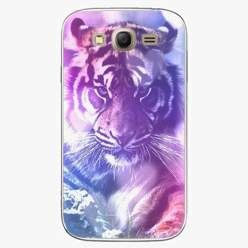 Plastový kryt iSaprio - Purple Tiger - Samsung Galaxy Grand Neo Plus