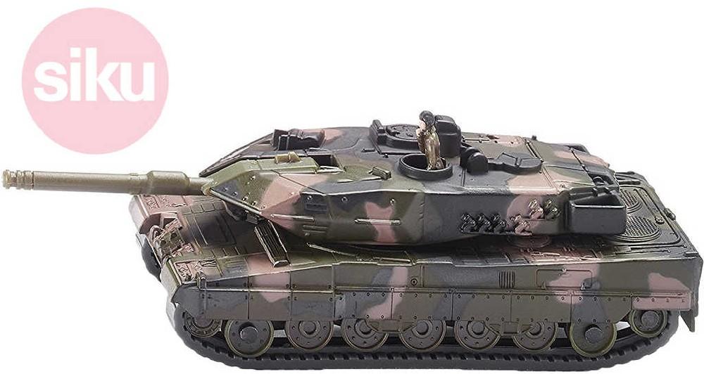 SIKU Super tank Leopard II 1:87 vojenský kovový 1867
