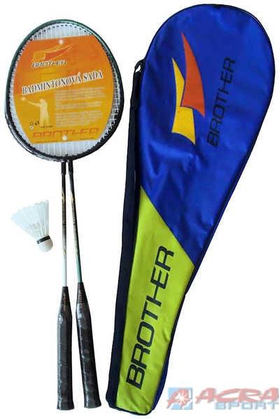ACRA Sada na badminton 2 pálky