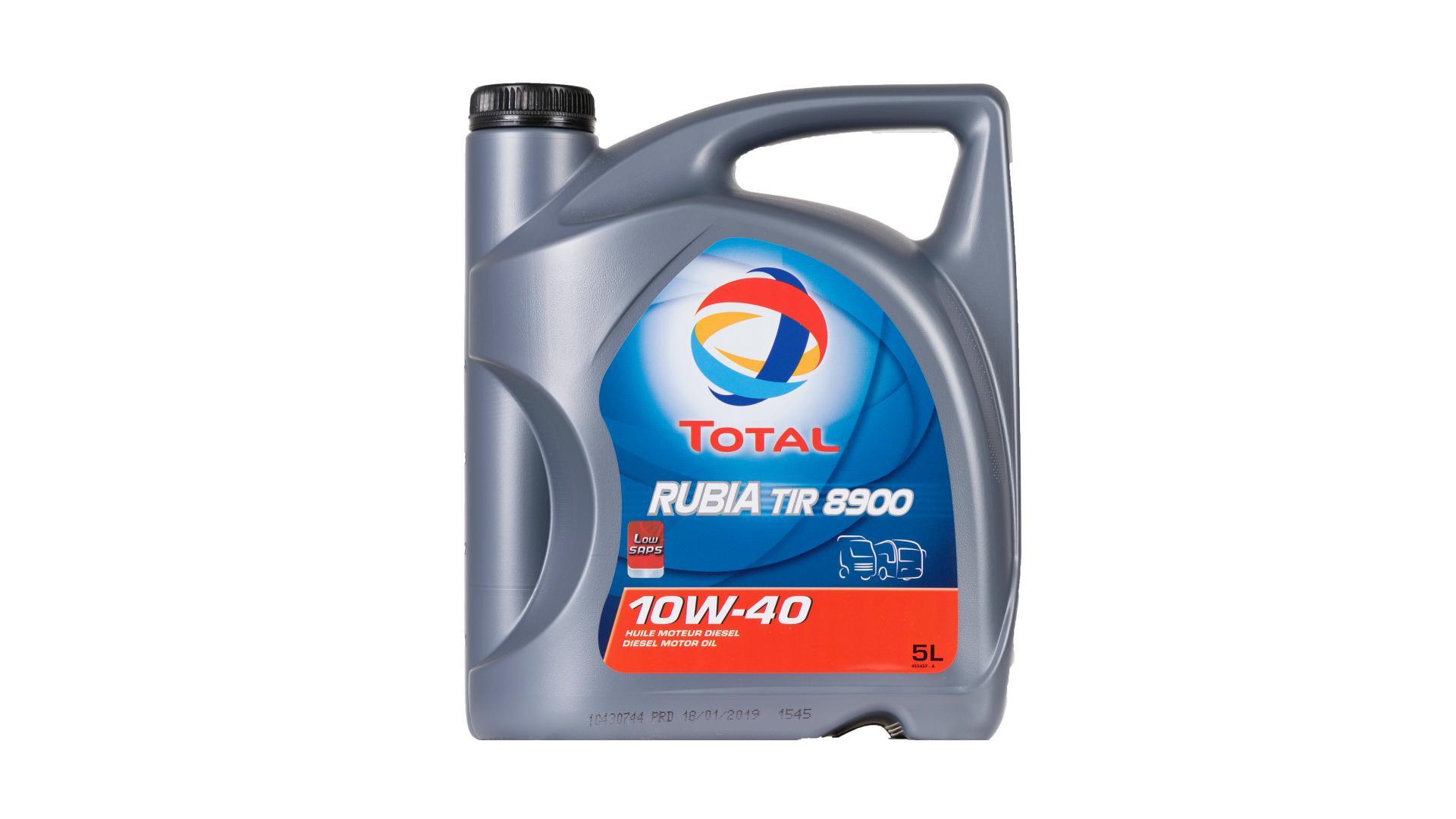 Total 10w-40 Rubia Tir 8600 5L (148590)