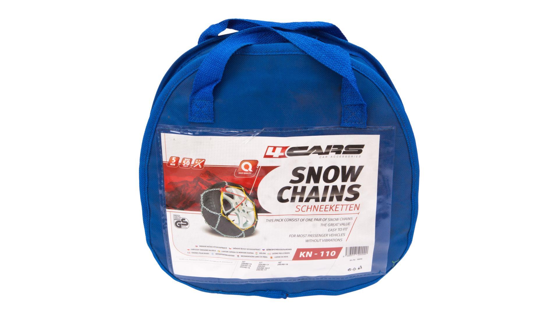 4CARS Sněhové řetězy KN110