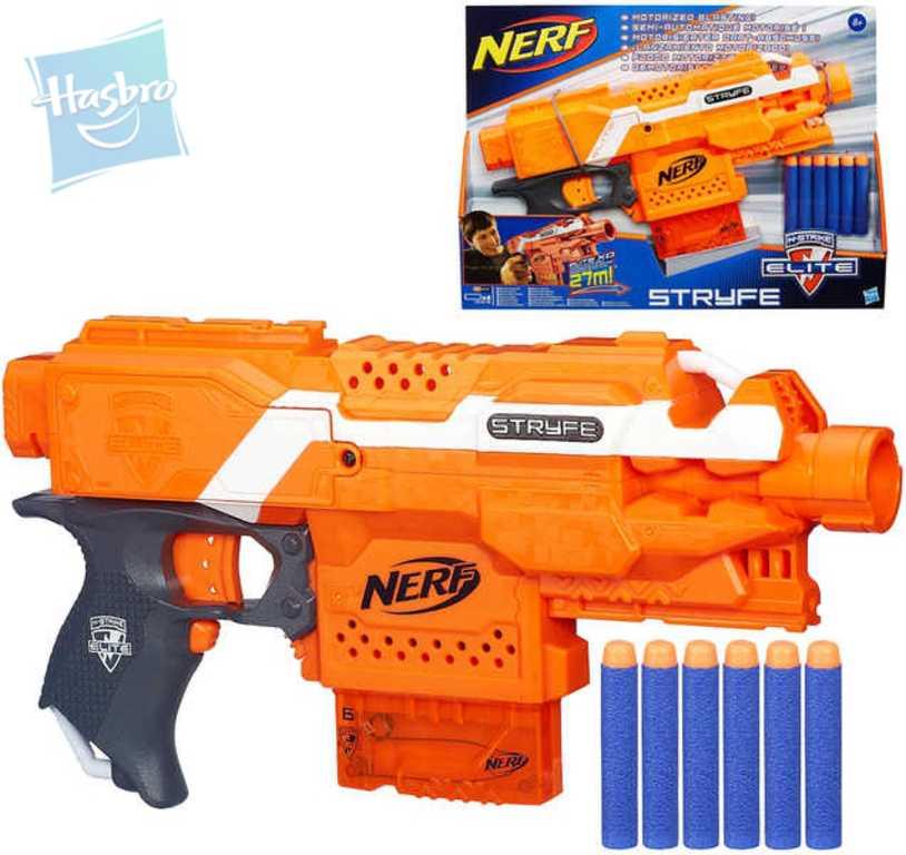 HASBRO NERF Pistole automatická s clipovým zásobníkem