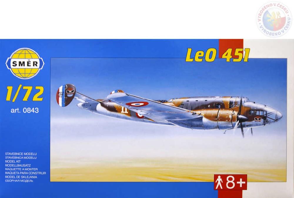 SMĚR Model letadlo Leo 451 1:72 (stavebnice letadla)