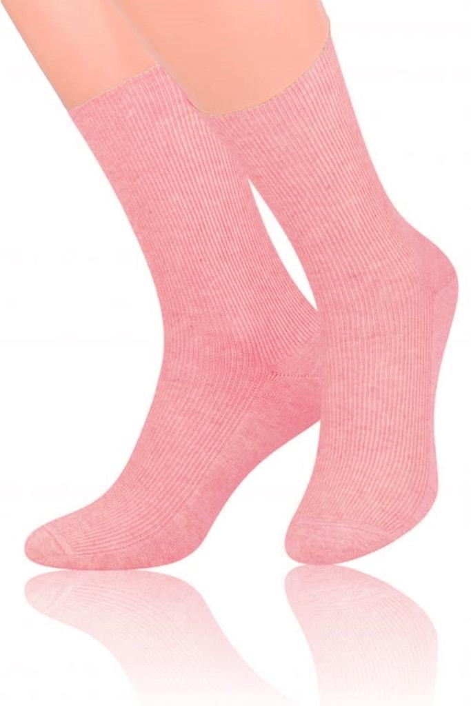 Dámské ponožky 018 pink - 35/38
