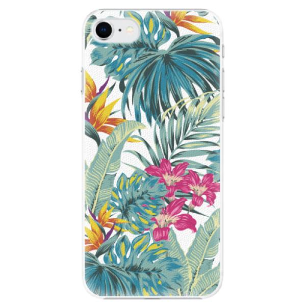 Plastové pouzdro iSaprio - Tropical White 03 - iPhone SE 2020
